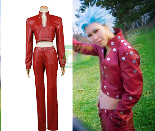 The Seven Deadly Sins Ban Cosplay Fox's Sin of Greed Costume