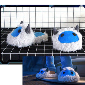 Overwatch Mei Slippers Rise and Shine Home Shoes Indoor Winter Slippers Sandals