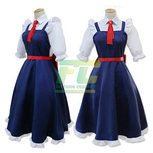 Tohru Cosplay Anime Miss Kobayashi's Dragon Maid Dress Cosplay Costume - fortunecosplay