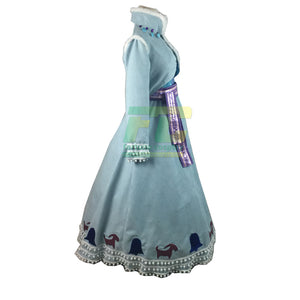 Olaf's Frozen Adventure Anna cosplay dress