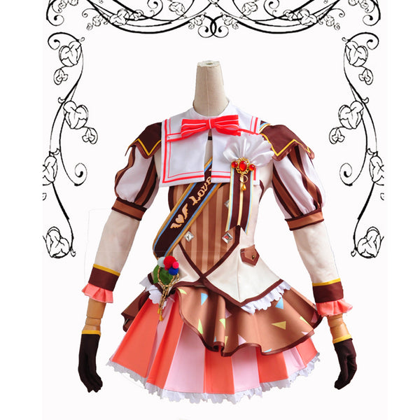 LoveLive Nico Yazawa Ice Cream Awaken Cosplay  Costume Dress Party Cosplay