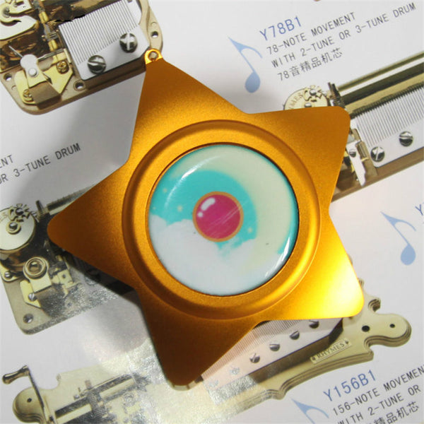 Handmade Sailor Moon Cosplay Moonlight Memory Star Shape Music Box