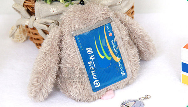 Yuri on Ice Victor Makkachin Poodle Bus IC Credit Card Holder Case Bag