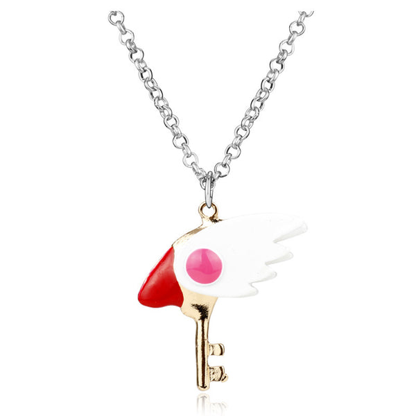 Card Captor Sakura Kinomoto Necklace Bird's Beak  Cosplay Pendant