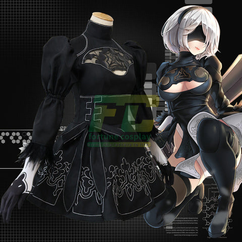 NieR: Automata 2B Custom Made Cosplay Costume