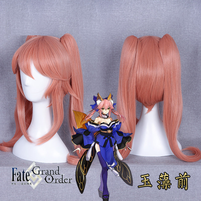 Tamamo no Mae Fate Grand Cosplay Wig 2