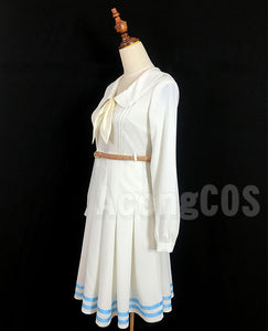 Free Shipping Beastars Haru Cosplay Costume White Rabbit Full Set