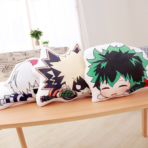 My Hero Academia Dolls Plush Soft Pillow Toy Birthday Gifts Stuffed Brinquedos Collection