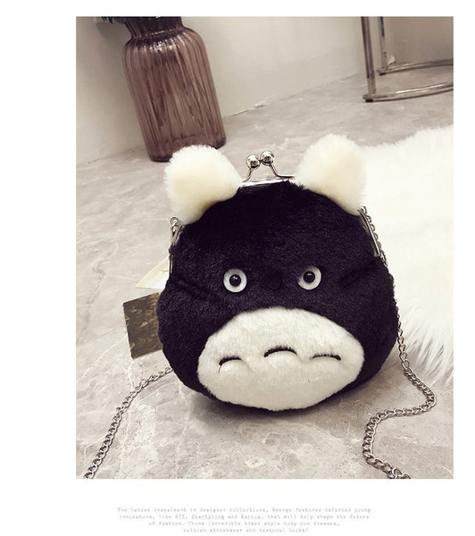 Totoro Small Small Coin Purse Chain Bag Kawaii girl Mini bag