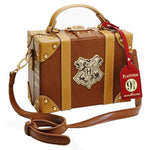 Load image into Gallery viewer, Harry Potter Bag Hogwarts PU School Badge Small suitcase Shoulder bag Handbags Halloween Christmas Gifts