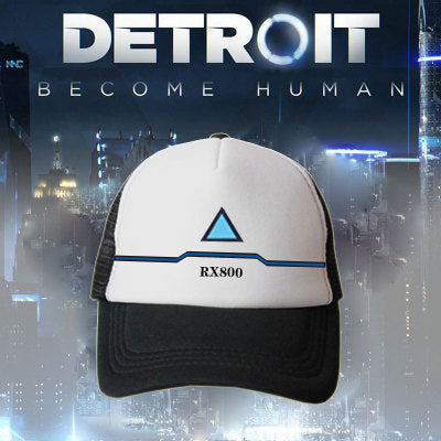 Detroit Become Human Connor Cosplay Mesh Sun Baseball Caps