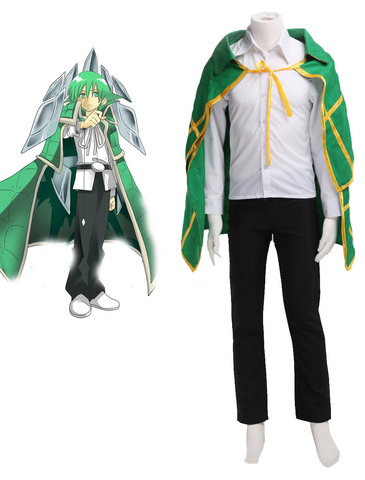 Shaman King 2021 Lyserg Diethel Cosplay Costume Custom Made