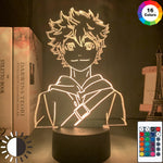 Load image into Gallery viewer, Acrylic Led Night Light Anime Haikyuu Shoyo Hinata Figure for Kids Bedroom Decor Nightlight Cool Manga Gadget Child Table Lamp
