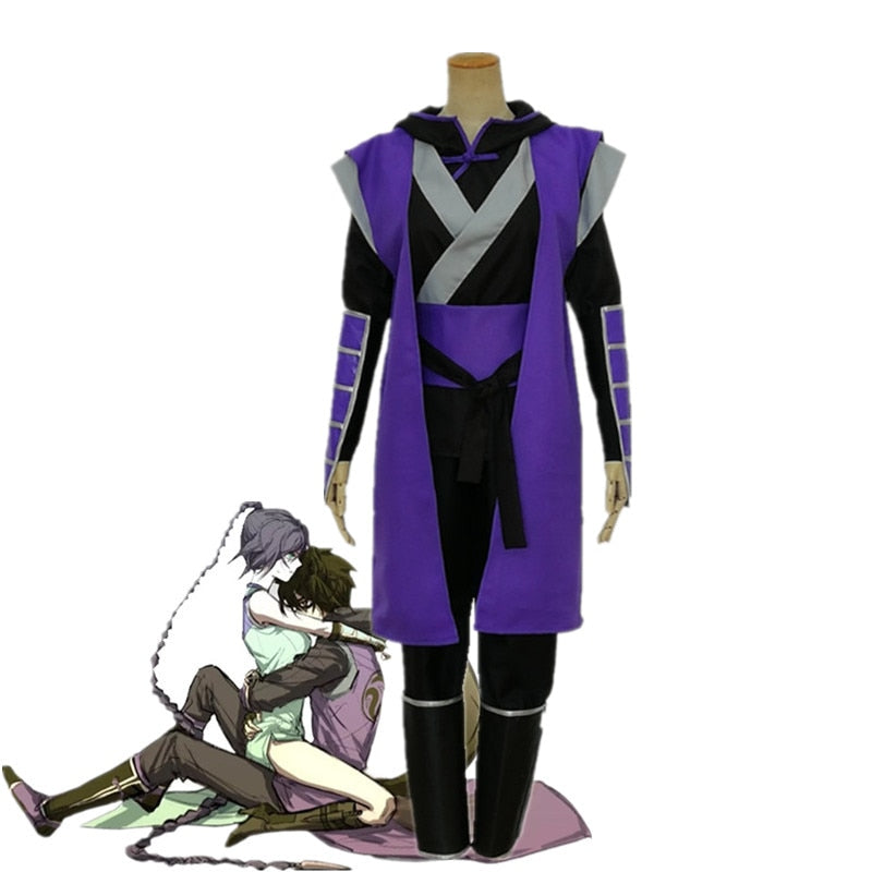 Adult kids size Anime Scissor Seven Cosplay costume Killer Seven Funny Uniforms Halloween Passionate costume Men and women