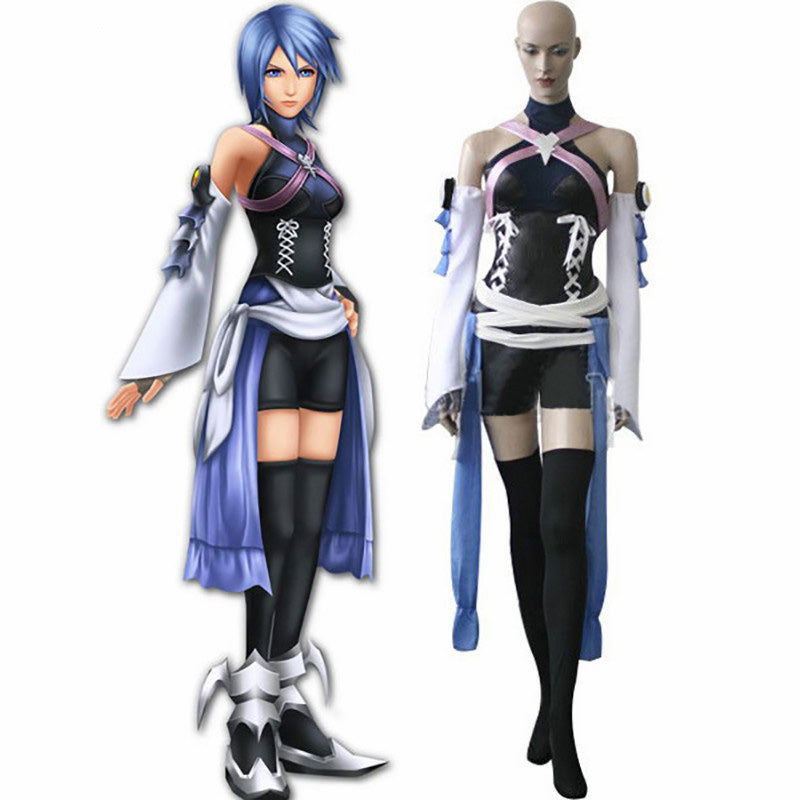 Kingdom Hearts Birth By Sleep Aqua Cosplay Costume Custom Made