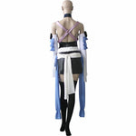 Load image into Gallery viewer, Kingdom Hearts Birth By Sleep Aqua Cosplay Costume Custom Made