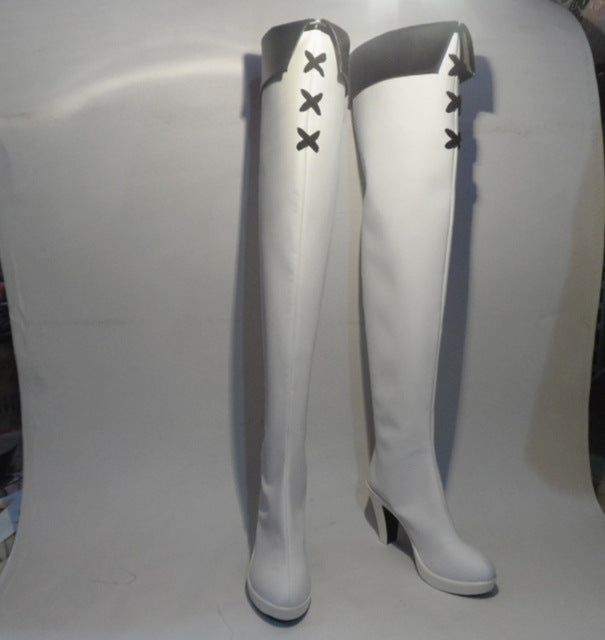 Akame ga KILL Esdeath Cosplay Boots Esdese Anime Shoes Custom Made
