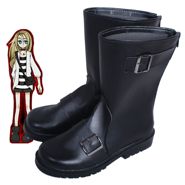 Angels of Death Isaac Rachel Gardner Ray Cosplay Shoes Boots Custom Made