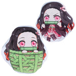 Load image into Gallery viewer, Anime Demon Slayer Kimetsu no Yaiba Kamado Nezuko Cosplay Doll Plush Stuffed Cushion Throw Pillow Toy Gift NEW Nezuko Tanjirou