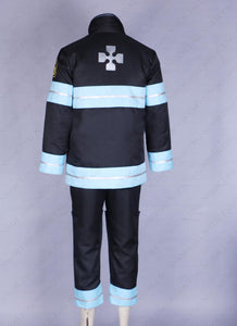 Enn Enn no Shouboutai Shinra Kusakabe team uniform Cosplay Costume Fire Force Custom Made