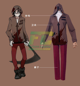 Angels of Death Cosplay Isaac Foster Cosplay Costume