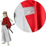 Load image into Gallery viewer, Gintama Silver Soul Shinsengumi Okita Sougo KendoCosplay Costume Kimono Yukata