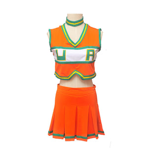 My Hero Academia Cheerleader Asui Tsuyu Boku no Hero Academia Cosplay costume