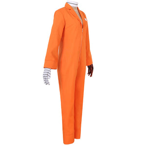 Nanbaka NO.25 Niko Rock Jail Uniform Prisoner cosplay costume