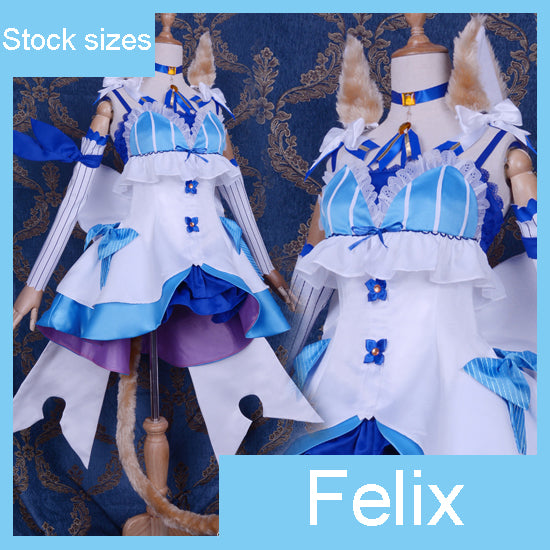 Re:Life in a Different World from Zero Re:Zero Felix Argyle Cosplay Costume