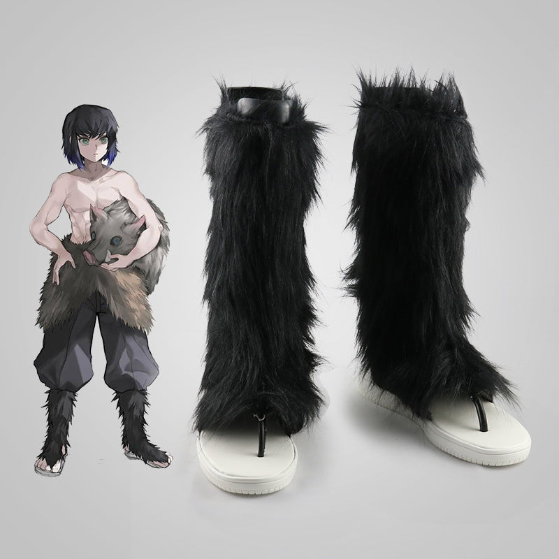 Demon Slayer Kimetsu no Yaiba Cosplay Shoes Hashibira Inosuke Cosplay Shoes