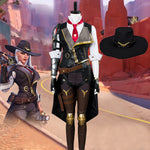 Load image into Gallery viewer, Free Shipping Overwatch OW New Hero Ashe Cosplay Costume