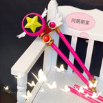 Load image into Gallery viewer, Card Captor Sakura Birdhead Star Magic Stick Wand Staves Cosplay Accessorie Porp