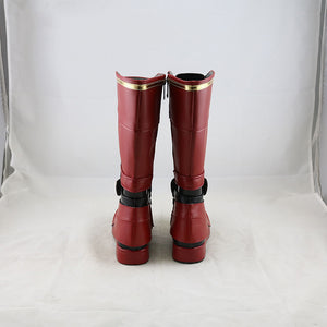 Captain Marvel : Ms. Marvel Carol Danvers Cosplay Boots Shoes Custom Made