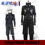 Load image into Gallery viewer, Tokyo Ghoul Season 2 Ken Kaneki  Fighting Cosplay Costume Black Full Set
