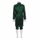 Load image into Gallery viewer, Musical Hamilton Lin Manuel  Colonial Red Green outfit Cosplay Costume Custom Made