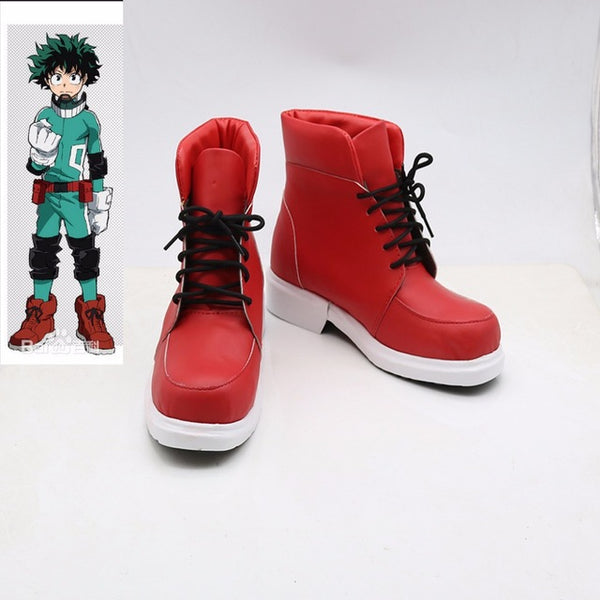 Boku no Hero Academia Midoriya Izuku Cosplay Boots Shoes My Hero Academia