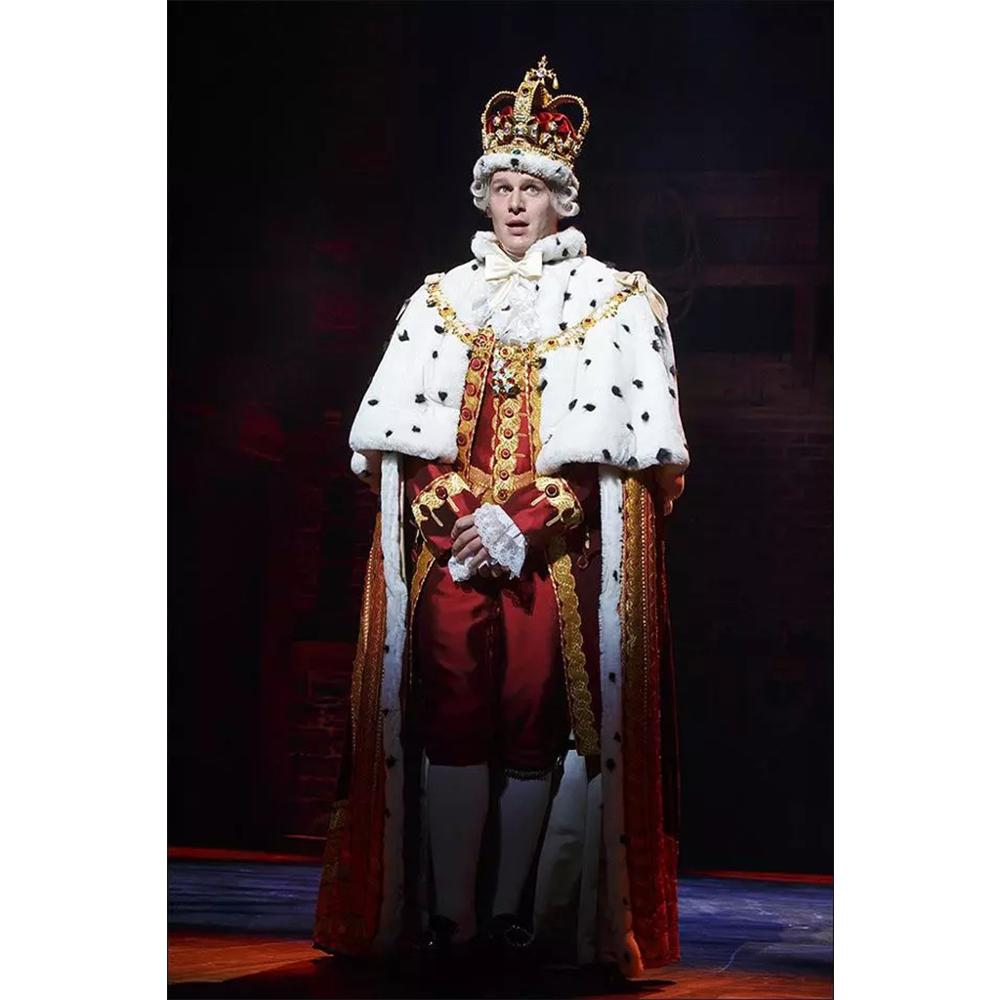 King George cosplay costume