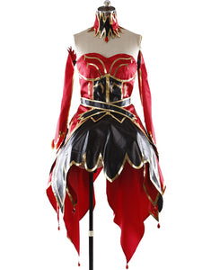 Custom Made DOTA 2 Lina Inverse the Slayer Dress Cosplay Costume