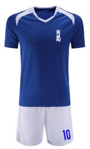 Captain Tsubasa Jersey Football Suit Uniform Kid&Adult size cosplay costume
