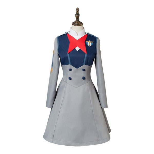 DARLING in the FRANXX Cosplay ICHIGO MIKU CODE 015 Cosplay Costume KOKORO School Uniform
