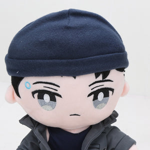 Detroit: Become Human DBH Connor RK800 Plush Stuffed Pillow Cosplay Doll Cushion Plushie Toy