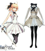 Load image into Gallery viewer, Fate Zero Fate stay night Saber Lily Dress Anime Cosplay Costume