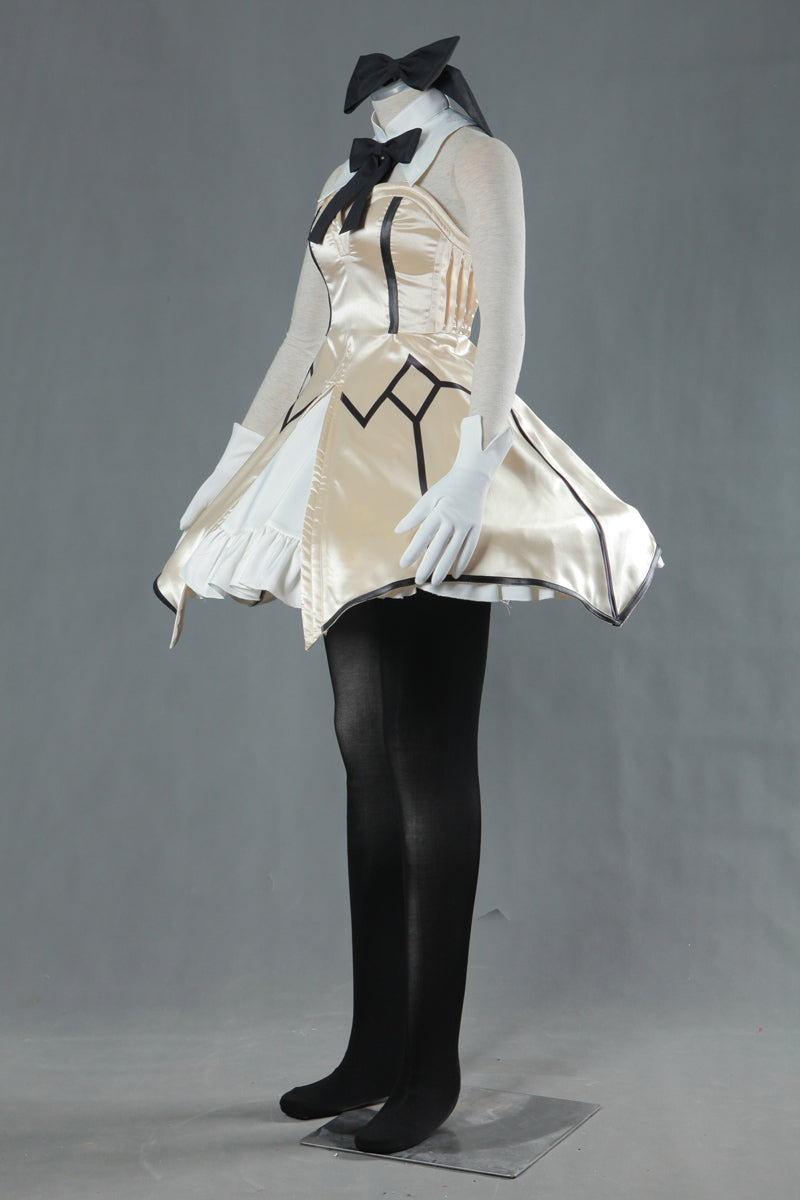 Fate Zero Fate stay night Saber Lily Dress Anime Cosplay Costume
