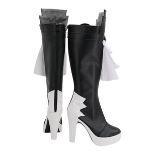 Final Fantasy 14 FF14 Gaia Cosplay Boots Shoes Custom Made