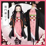 Load image into Gallery viewer, Demon Slayer: Kimetsu no Yaiba Kamado Nezuko Cosplay Costume