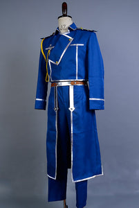 Fullmetal Alchemist Cosplay Roy Mustang Uniform Cosplay Costume