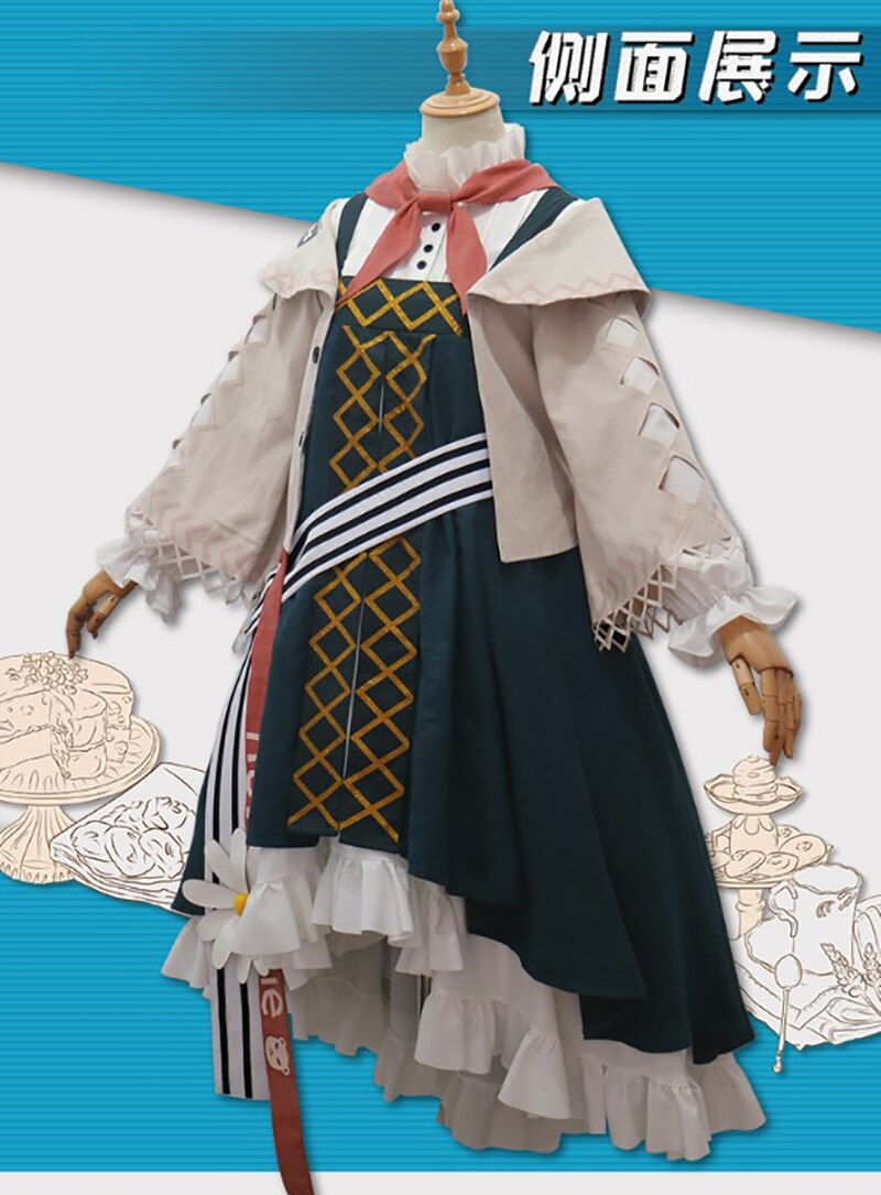 Game Arknights Istina Cosplay Costume Anna Morozova Costume Chrismas Cosplay