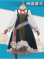 Load image into Gallery viewer, Game Arknights Istina Cosplay Costume Anna Morozova Costume Chrismas Cosplay