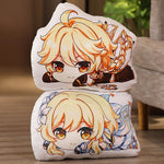 Load image into Gallery viewer, Game Genshin Impact Paimon Klee Amber Aether Lumine Plush Dolls Throw Pillow Stuffed Cushion Pendant Keychain
