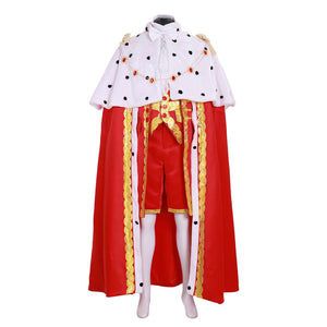 King George Musical Hamilton Performance Cosplay Costume Outfit Washington
